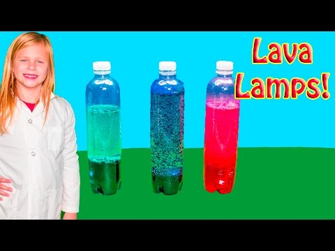 ASSISTANT Science Experiment Make Cool Lava Lamps at Home STEM Learning for Kids Video
