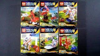 LEGO Nexo Knights Minifigures (bootleg / knock-off) LEPIN 03029