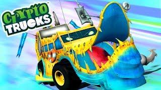 Ness seal | CryptoTrucks | Monster Trucks For Children | Cartoon Videos For Toddlers by Kids Tv