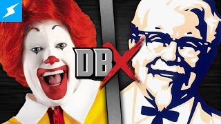 DBX: Ronald McDonald VS Colonel Sanders (McDonald's vs KFC)