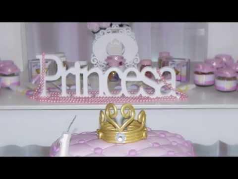 Festa Tema Princesa Fotos e Videos Virginia FotoVip Decoração Dani Maciel Decorações