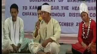 New chakma song.ejo bab vai log ejo ma bon log very very fine chakma tredition song