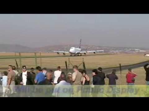Last flight of 747SP south african airways.