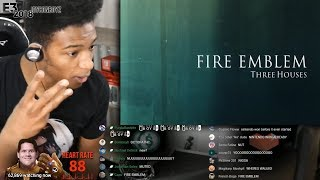 Etika Reacts To Fire Emblem: Three Houses - Trailer E3 2018 [Etika Stream Highlight]