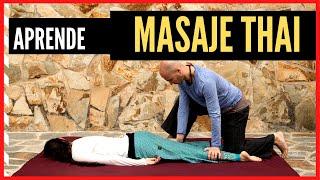 Masaje tailandés paso a paso 1: maniobras de para pies