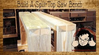 Build a $10 Split-Top Saw Bench for Woodworking (Short Version)