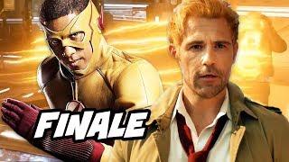 Legends of Tomorrow Season 3 Episode 18 Finale - TOP 10 The Flash Arrow Easter Eggs