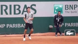 Dominic Thiem Roland Garros 2016