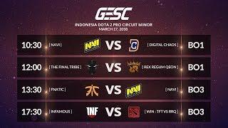 FNATIC [MY]  vs NAVI [UA] [BO3] @GESC INDONESIA MINOR Playoffs Day 1