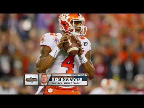 Ben Boulware can t wait to finally hit Deshaun Watson once they re in the NFL