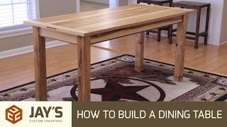 How To Build A Dining Table - 242