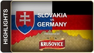 Germans get first victory | Slovakia-Germany HL | #IIHFWorlds 2016