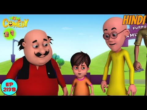 Amusement Park Mein Dhamal - Motu Patlu in Hindi - 3D Animated cartoon series for kids - As on Nick