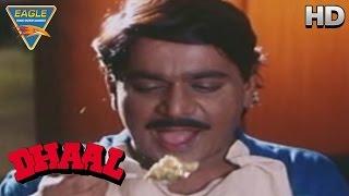 Dhaal Movie || Laxmikant Berde at Hotel Comedy || Vinod Khanna, Sunil Shetty || Eagle Hindi Movie