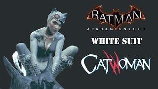SKIN; Batman; Arkham Knight; White Suit Catwoman