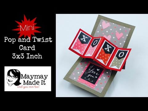 watch Mini Pop and Twist Card Made Easy