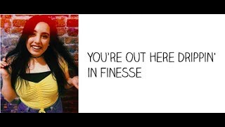 """Finesse"" - Cimorelli (Cover - Lyrics)"