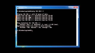 Network Troubleshooting using PING, TRACERT, IPCONFIG, NSLOOKUP COMMANDS