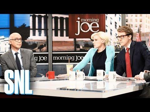 Morning Joe Michael Wolff Cold Open SNL