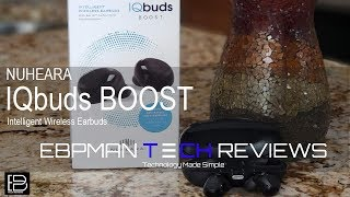 NEW! Nuheara IQbuds Boost Now with Ear ID - NAL/NL2 Detailed Review