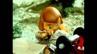 Davey and Goliath little girl crying