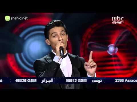 Arab Idol الأداء محمد عساف على الكوفية