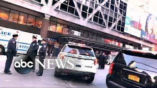 Possible pipe bomb explodes below major bus terminal in NYC, suspect in custody