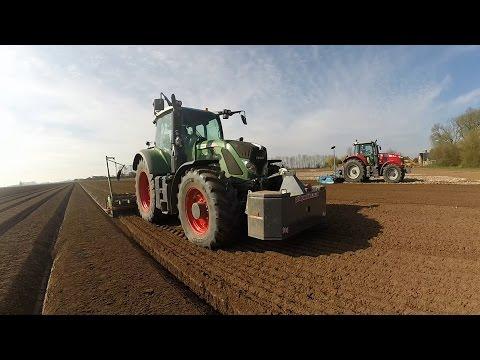 Potato Planting 2016, Fendt, Massey Ferguson, Case, JCB, Lemken, Standen, Baselier.
