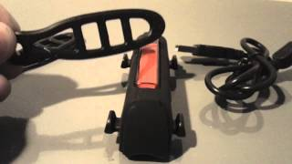2013 Serfas Thunderbolt Tail Light - Unboxing and Review