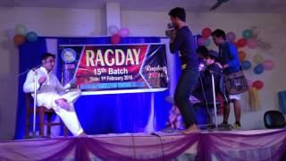Bangla Comedy in  Rag Day program...