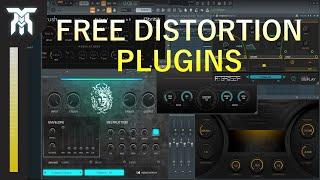 Best FREE Audio Distortion Effect Plugins for Windows & Mac (VST & AU)