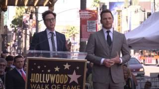 Chris Pratt Receives Hollywood Walk of Fame Star - Guardians of the Galaxy Vol. 2
