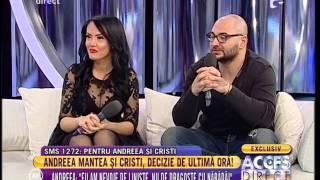 Andreea Manea şi Cristi Mitrea, decizie de ultimă oră!