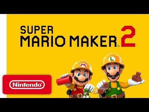 Xxx Mp4 Super Mario Maker 2 Announcement Trailer Nintendo Switch 3gp Sex