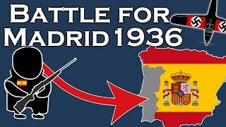 The Battle for Madrid, 1936 (filmed/animated on location)