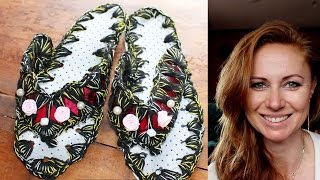 recycling DIY - How to make slippers with plastic bottle