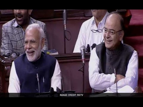 PM Modi And Arun Jaitley LAUGH At Naresh Agrawal's Joke