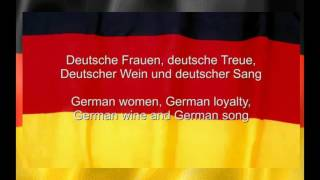Das Deutschlandlied  Germany National Anthem with German & English Lyrics
