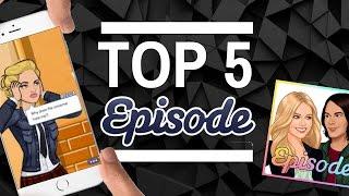 My TOP 5 Episode Stories!! 2017 Favorites