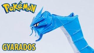 Origami Pokemon - Origami Gyarados 2.0 - ギャラドス Tutorial (Henry Phạm)