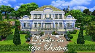 Pensão da Tia Ruiva │The Sims 4 (Speed Build)