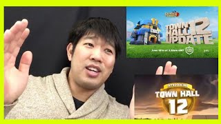 Town Hall 12 Update is Here! (Clash of Clans Official) Reaction