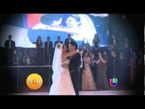 La boda de la hija de Pedro Fernandez Univision