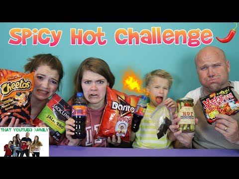 Xxx Mp4 SPICY HOT CHALLENGE That YouTub3 Family 3gp Sex