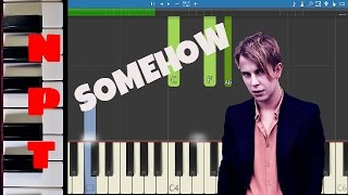 Tom Odell - Somehow - Piano Tutorial - Instrumental