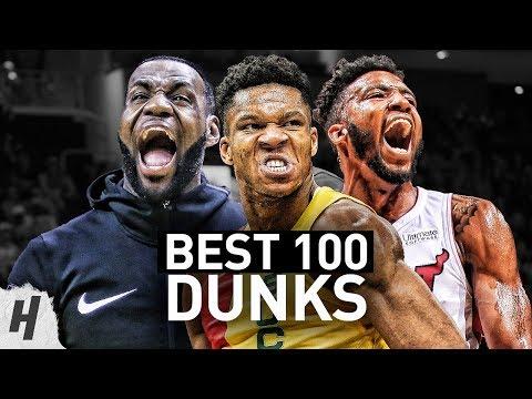 BEST 100 Dunks & Posterizes of the 2019 NBA Regular Season