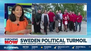 Sweden political turmoil