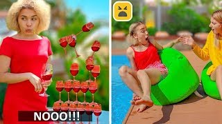 41 Awkward Situations! Unlucky Day | Relatable Facts