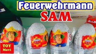 Feuerwehrmann Sam Deutsch Kinder Überraschung ! Fireman Sam Surprise Eggs