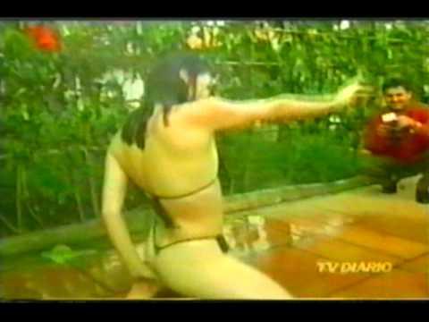 tigresa ellen molhadinha